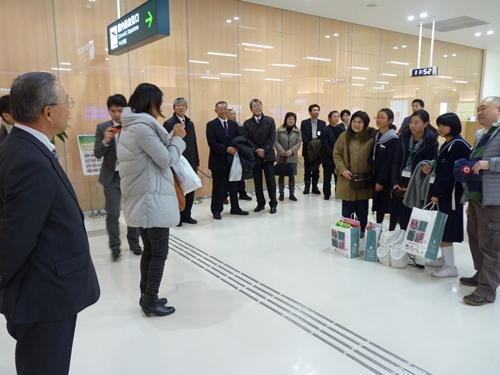 ⑬ 秋田空港出発前4