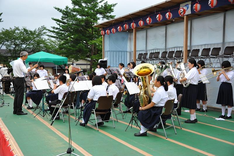 中仙中学校吹奏楽