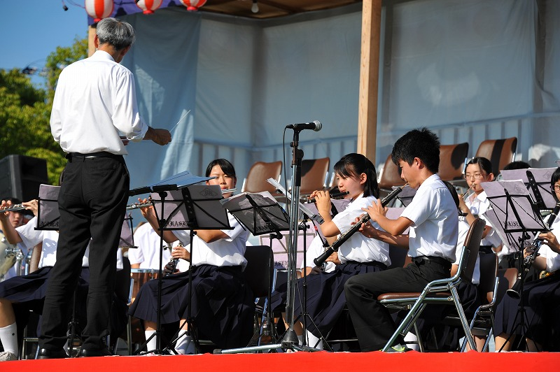 中仙中学校吹奏楽②