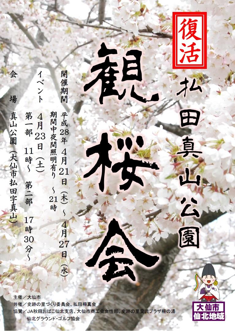 観桜会チラシ表