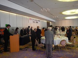 総会に先立ち4月の熊本地震で被災された皆様に黙祷が捧げられました。
