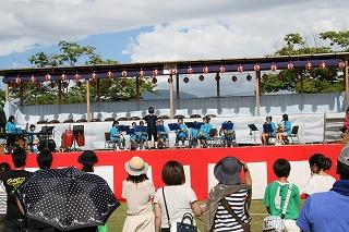 豊成中学校吹奏楽です。
