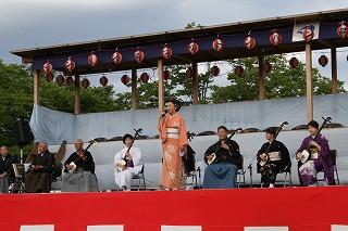 中仙民謡研究会による郷土民謡フェスティバルです。