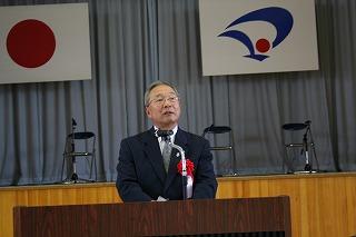 久米副市長の祝辞