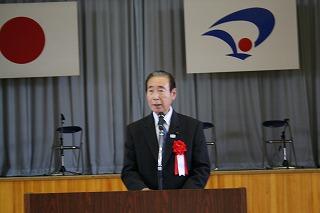 大野県議会議員の祝辞