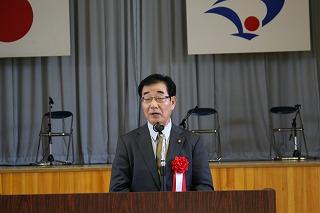 千葉議長の祝辞